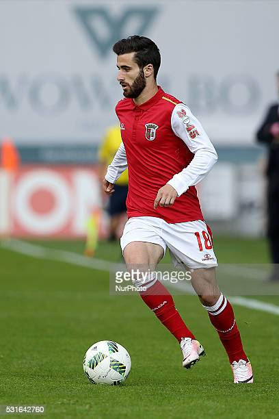 Braga's Portuguese midfielder Rafa Silva in action during the Premier League 2015/16 match between SC Braga and Sporting CP at AXA Stadium in Braga...
