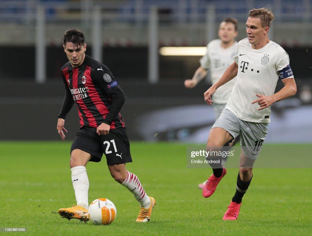 AC Milan v AC Sparta Praha: Group H - UEFA Europa League : News Photo