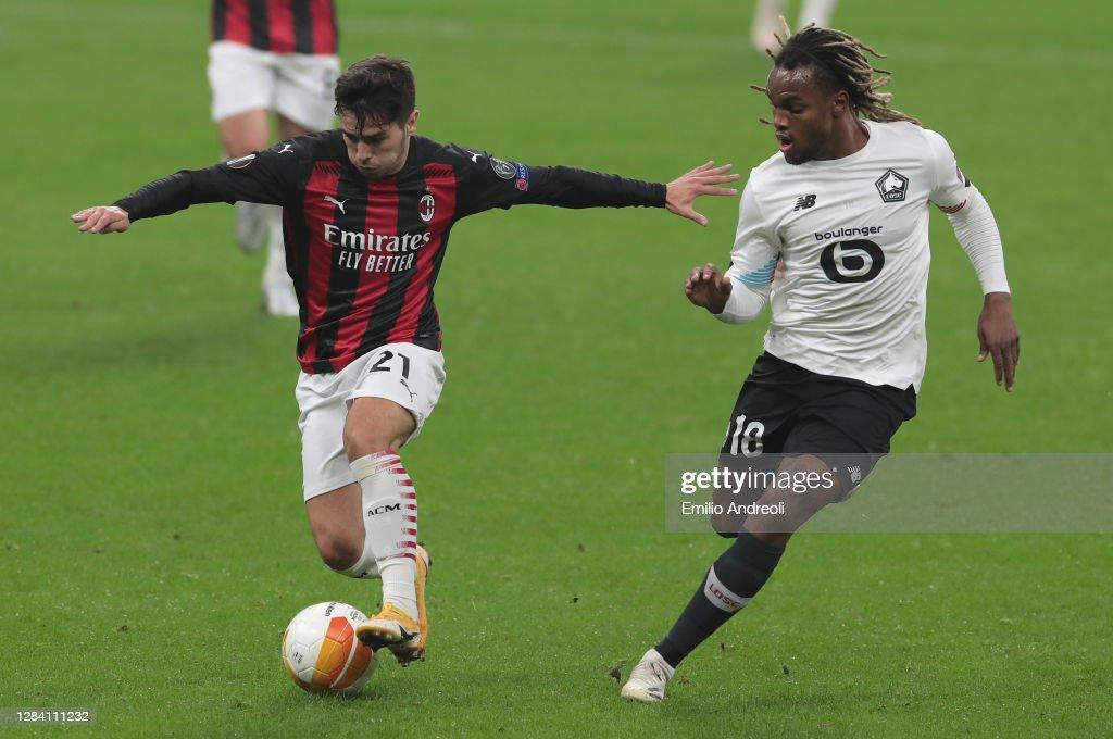 AC Milan v LOSC Lille: Group H - UEFA Europa League : News Photo