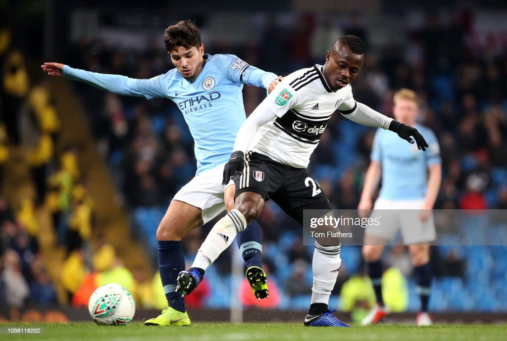 Manchester City v Fulham - Carabao Cup Fourth Round : News Photo