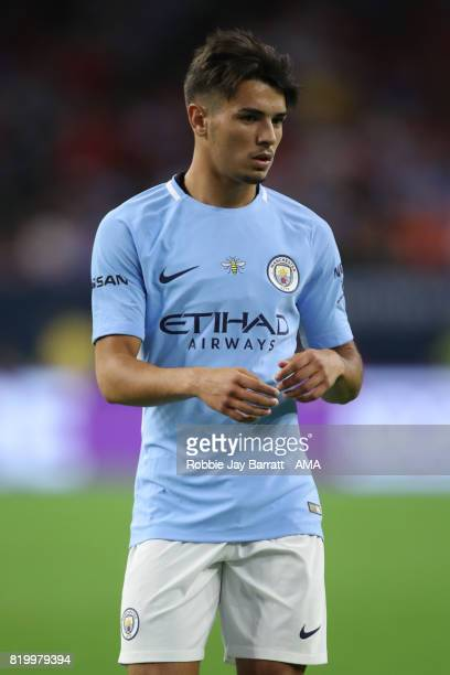 Brahim Diaz of Manchester City during the International Champions Cup 2017 match between Manchester United and Manchester City at NRG Stadium on July...