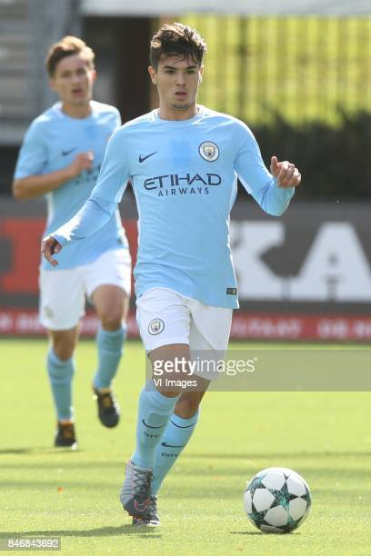 Brahim Diaz of Manchester City U19 during the UEFA Youth League match between Feyenoord Rotterdam U19 and Manchester City U19 at the van Donge & de...
