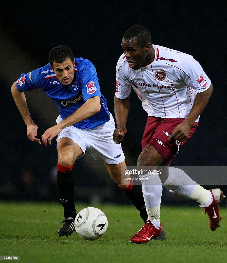 Rangers v Hearts - CIS Insurance Cup Semi Final : News Photo