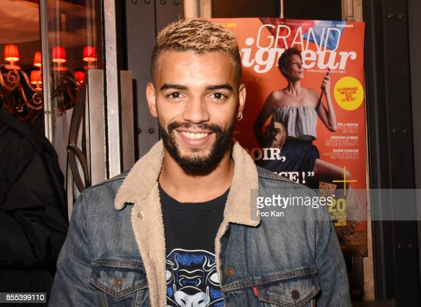Brahim Zaibat attends the 'Apero Gouter' Cocktail Hosted by Le Grand Seigneur Magazine at Bistrot Marguerite on September 28 2017 in Paris France
