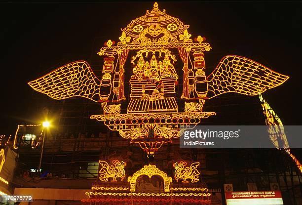 Brahmotsavam procession Tirupati Andhra Pradesh India