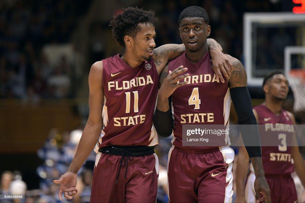 Florida State v Duke : News Photo