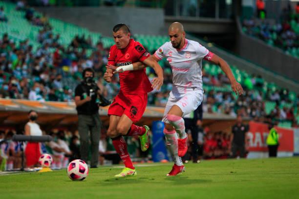 MEX: Santos Laguna v Toluca - Torneo Apertura 2021 Liga MX