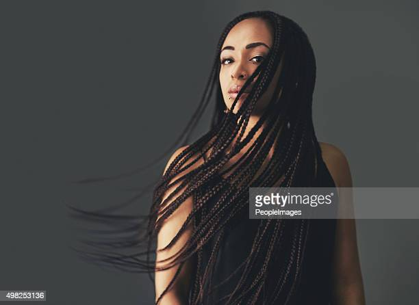 braids in the breeze - braided stock pictures, royalty-free photos & images