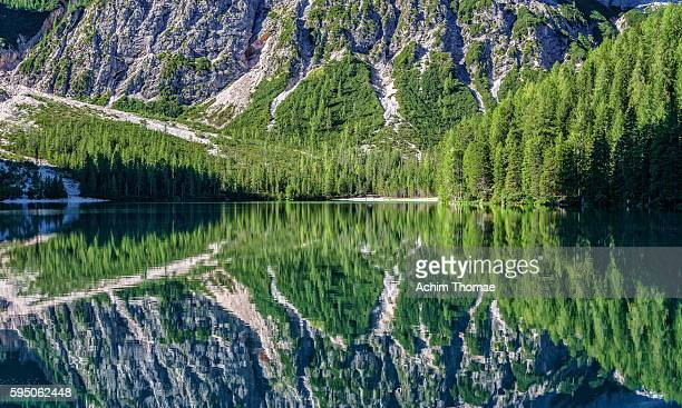 Braies Lake - Dolomite Alps, South Tyrol, Italy