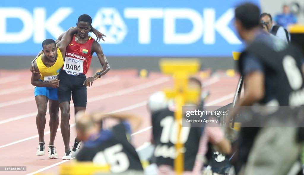 17th edition of the IAAF World Athletics Championships : News Photo