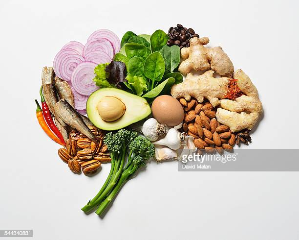 brain food resembling a brain.\ - animal internal organ stock photos and pictures