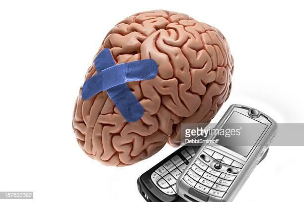 Cerveau blessures et les téléphones cellulaires