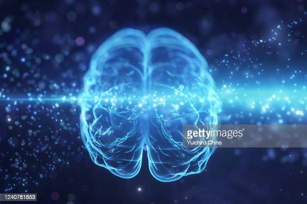 ai brain learning - human brain stock pictures, royalty-free photos & images