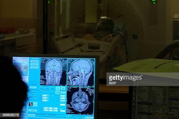 Brain MRI Reportage in Pitie Salpetriere hospital in Paris France