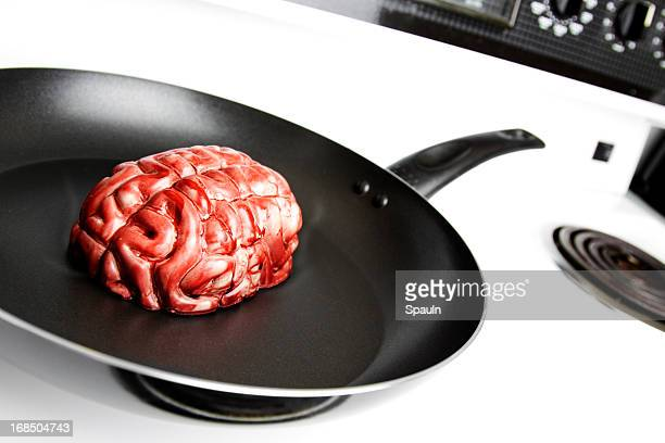 brain - cannibalism stock photos and pictures