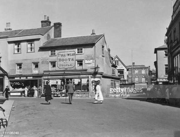 Braintree Essex circa 1940