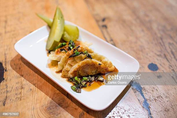 TORONTO ON NOVEMBER Braised beef with jus polish pickles and charred green onion pierogi Weekly Now Open column This week on The Saucy Pierogi...