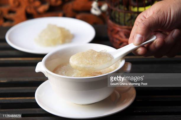 Braised Chicken Soup with Bird's Nest from Loong Toh Yuen at Hullet House in Tsim Sha Tsui 11JAN13