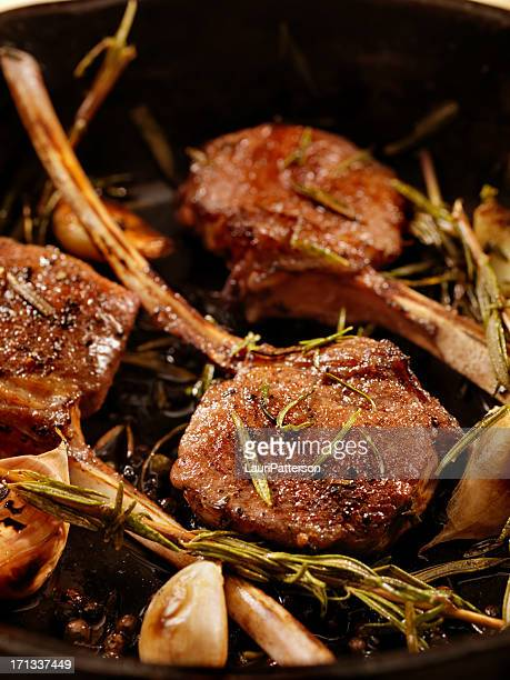 Braised Lamb Chops