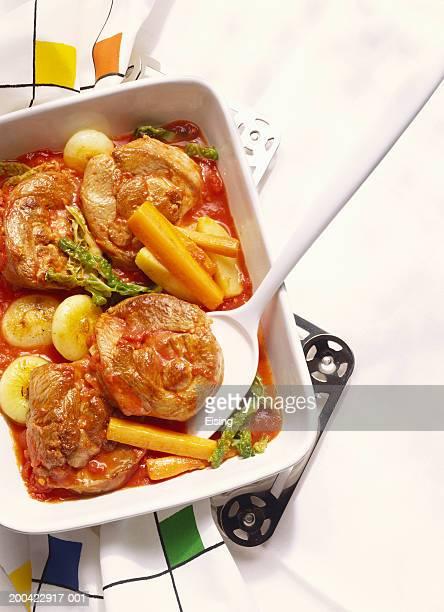 Braised Turkey Leg in Vegetable Stew