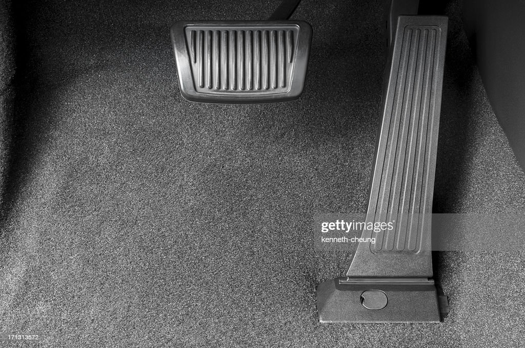 Brake and Gas Pedal : Stock Photo