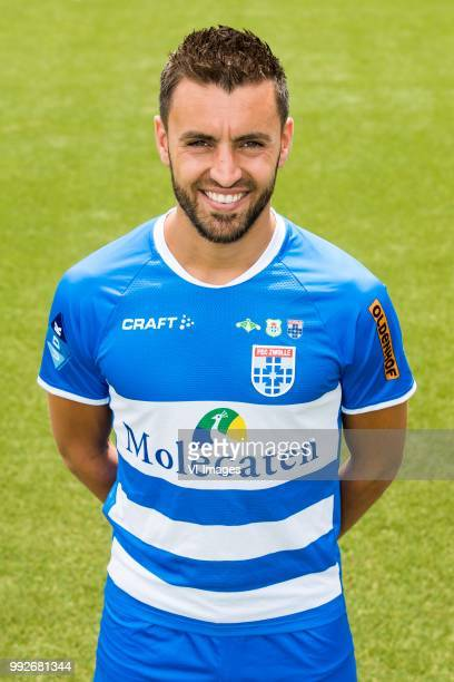 Bram van Polen during the team presentation of Pec Zwolle on July 06 2018 at the MAC3PARK stadium in Zwolle The Netherlands