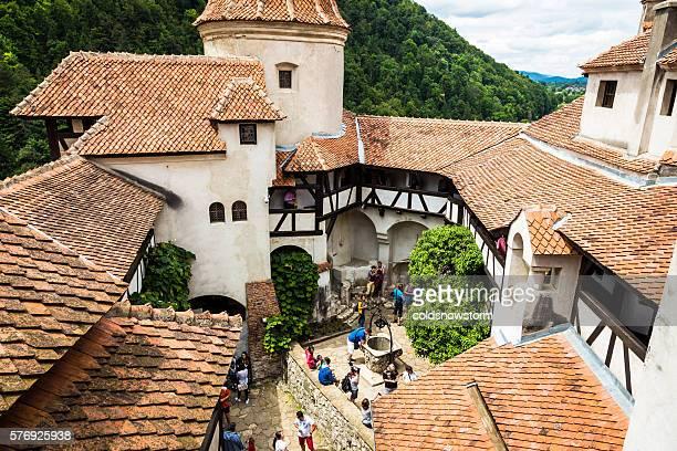 bran castle, bran, in transylvania, romania - romênia - fotografias e filmes do acervo