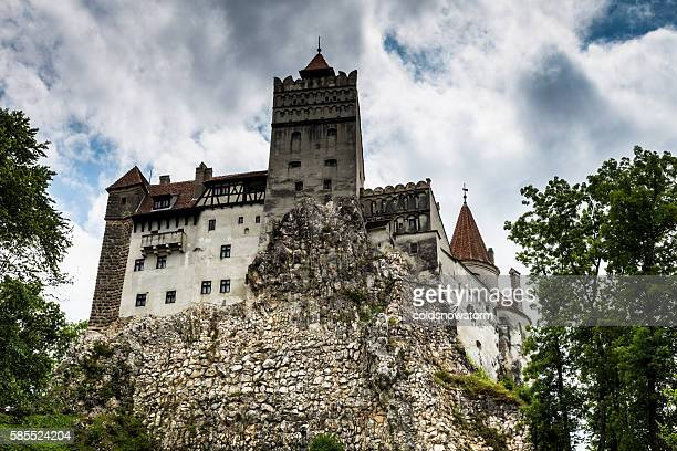 bran castle, bran, in transylvania, romania - count dracula stock photos and pictures