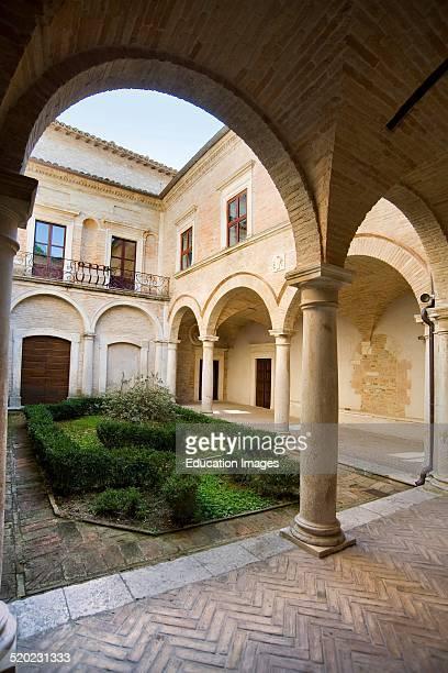 Brancaleoni castle. Piobbico, Marche, Italy.