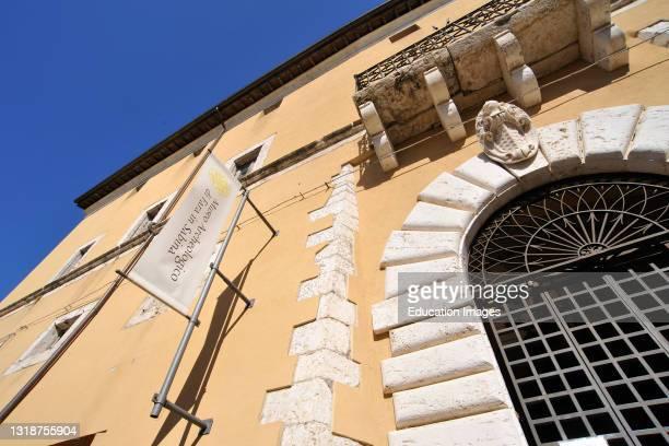 Brancaleoni Palace. Fara In Sabina. Lazio. Italy.