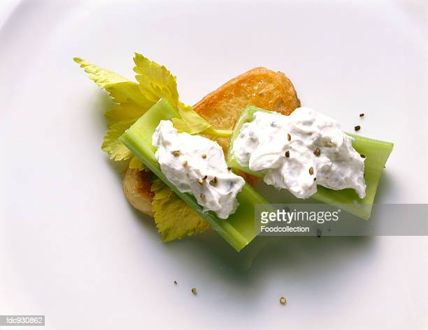 Branch Celery with Cheese Stuffing