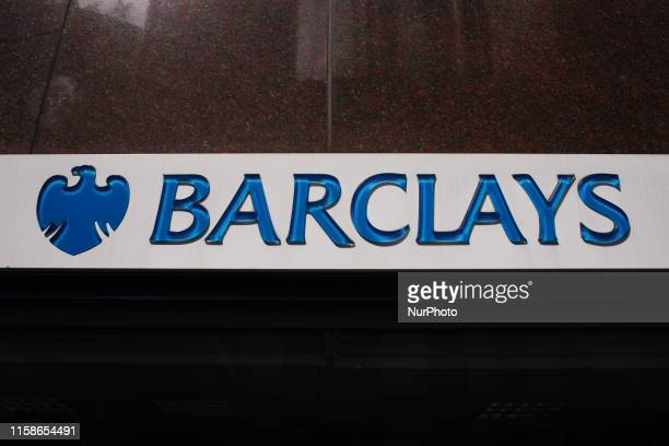 A branch of Barclays bank stands on Wormwood Street in London England on July 26 2019 Four major UK banks including Barclays are set to release...