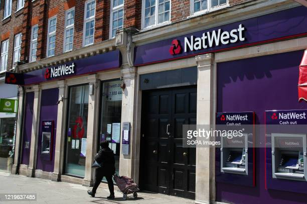 Branch of NatWest bank in London.