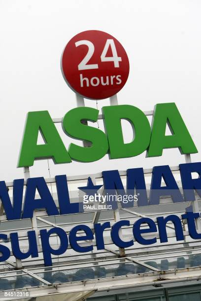 A branch of the Asda supermarket chain is pictured in Manchester north west England on January 28 2009 Asda the British supermarket chain owned by...