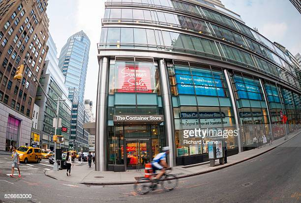 Branch of The Container Store chain in New York on Tuesday, July 7, 2015. The Container Store posted a loss in its last quarter citing citing high...