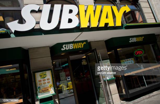 Branch of the fast food chain Subway in Hannover, Germany, 21 August 2015. The sandwich fast food chain will celebrate its 50th birthday on 28 August...