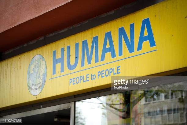 A branch of the Humana insurance company is seen in central Bucharest Romania on April 30 2019