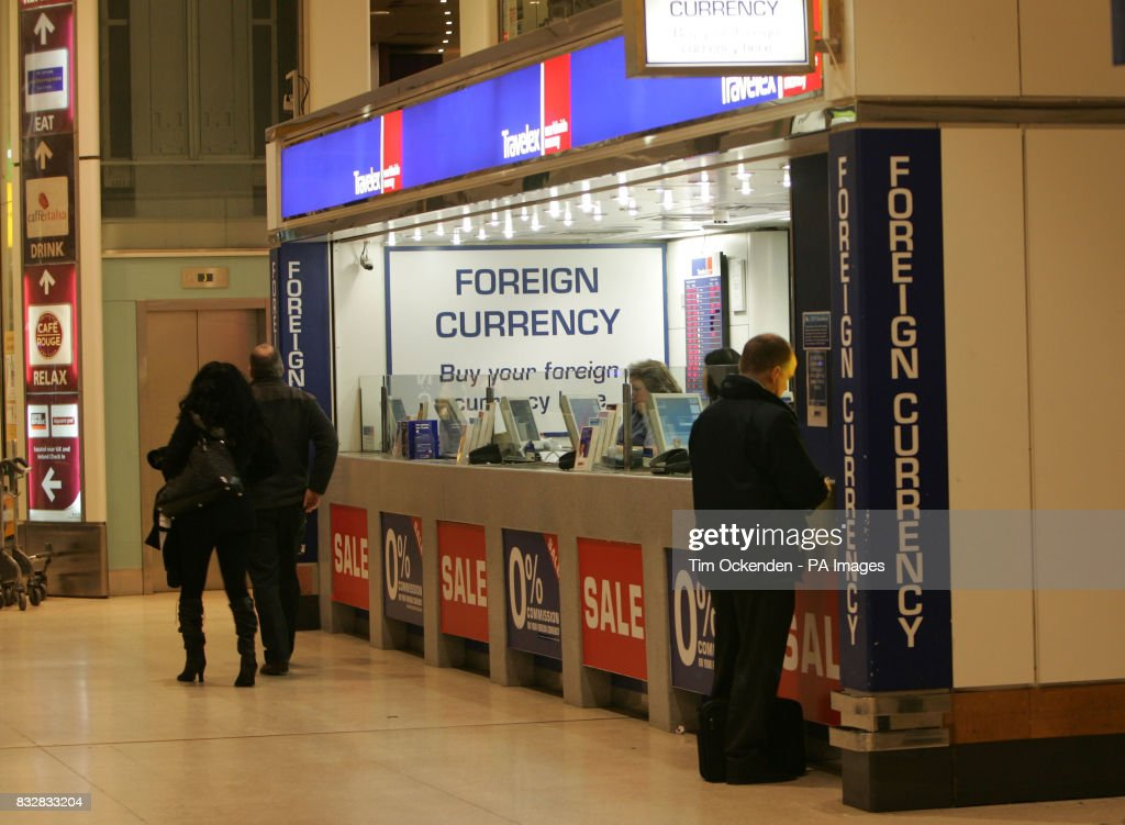 A branch of Travelex the Foreign Currency exchange at