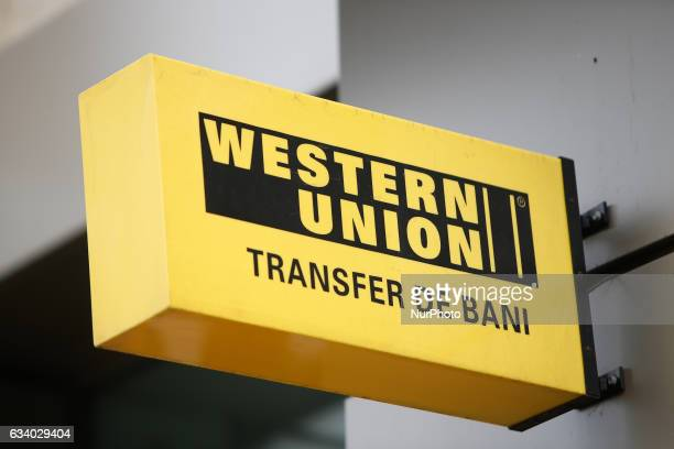 A branch of Western Union financial services is seen on 6 February 2017