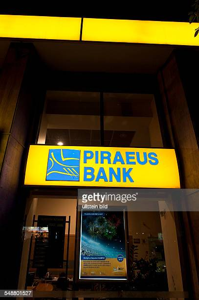 A branch office of the Piraeus Bank in Bucharest city centre The Greek bank was founded in 1916 Since 1995 it is present on the Romanian market and...