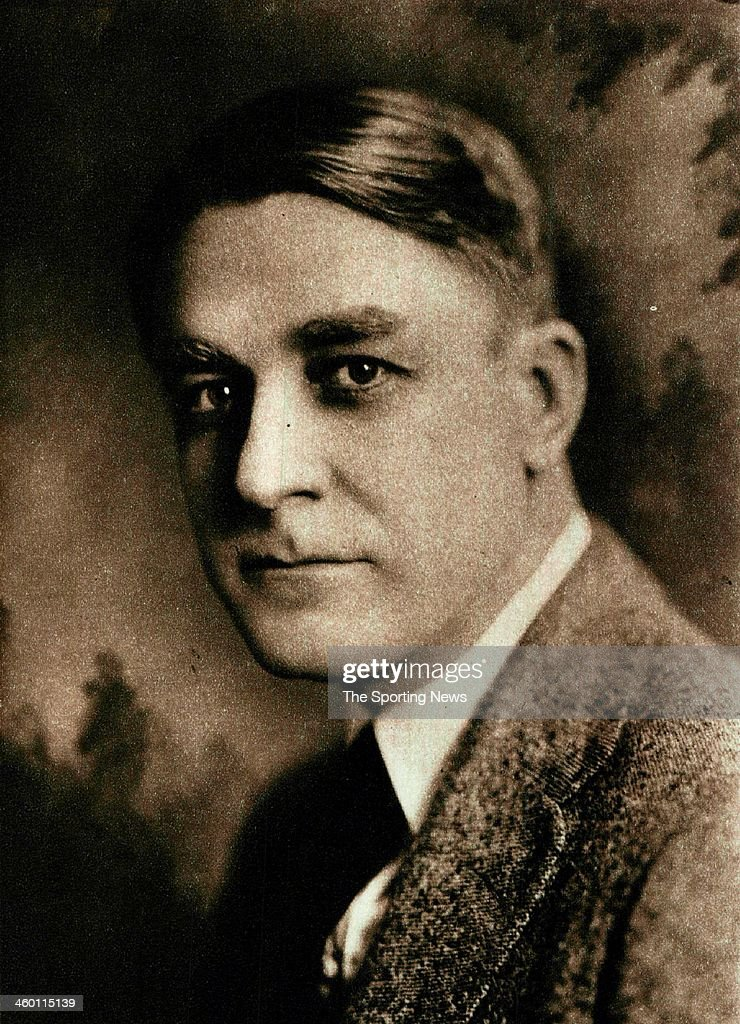 Branch Rickey, Vice president and General Manager of the St. Louis Cardinals circa 1935 in St. Louis, Missouri.