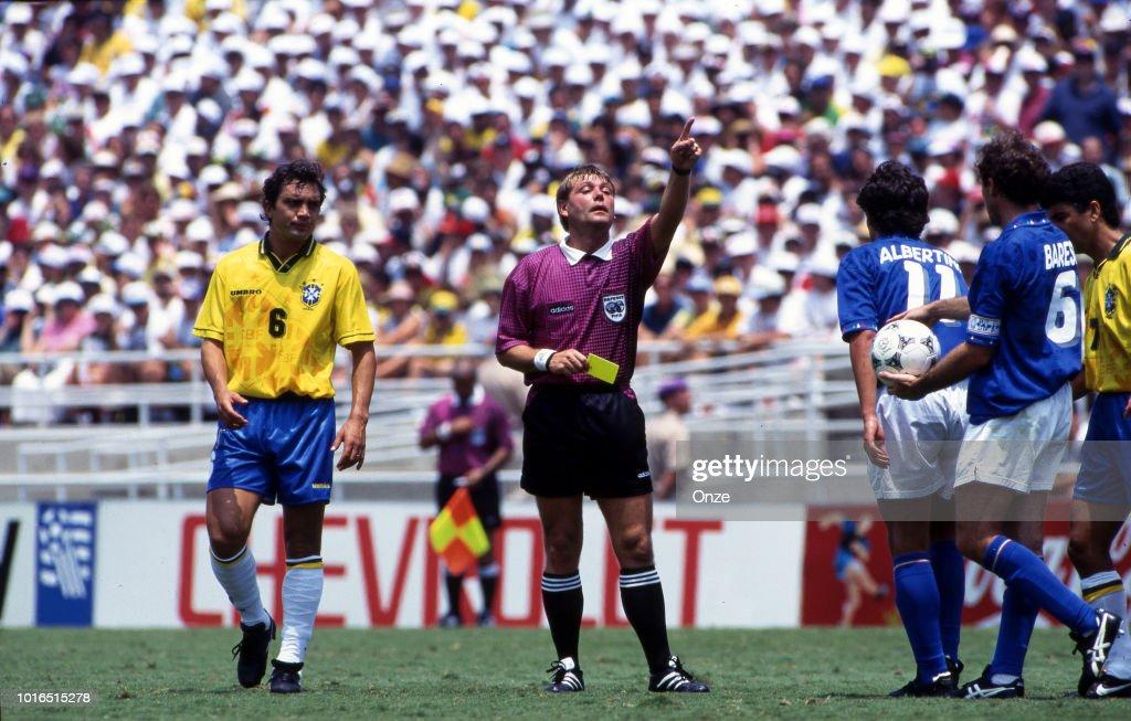 Brazil v Italy - 1994 FIFA World Cup Final : News Photo
