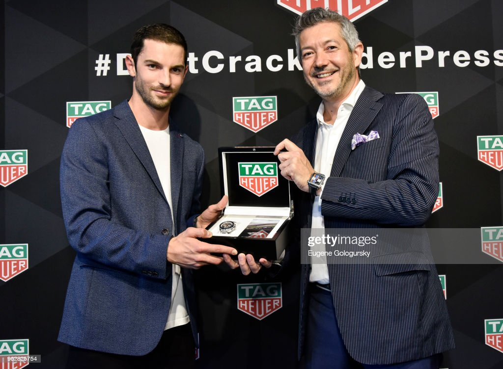 TAG Heuer Celebrates The 102nd Running Of The Indianapolis 500 Race As The Official Timepiece With Brand Ambassador And Indy 500 Champion, Alexander Rossi