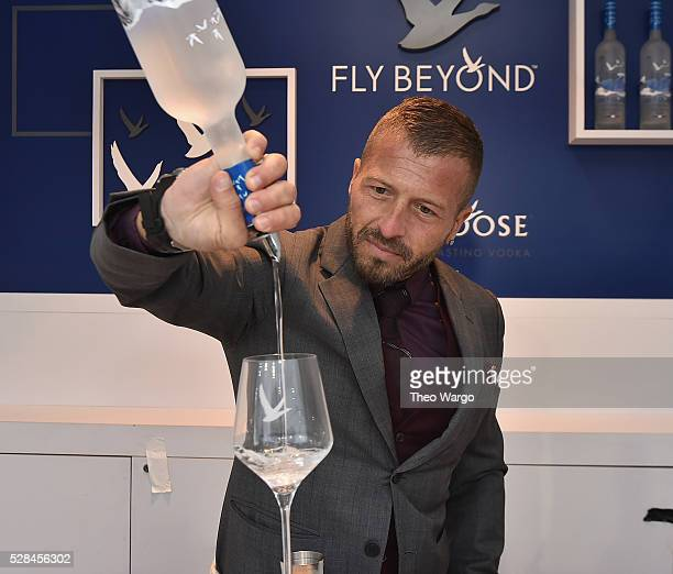 Brand Ambassador Guillaume Jubien and GREY GOOSE Introduce The Refreshing Signature Summer Serve, Le Grand Fizz, at the 142nd Kentucky Derby at the...