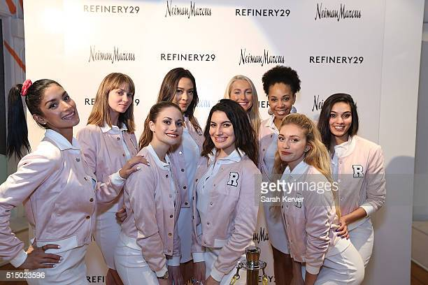 Brand ambassdors attend Refinery29's School of Self Expression opening night party presented by Neiman Marcus during SXSW on March 11 2016 in Austin...