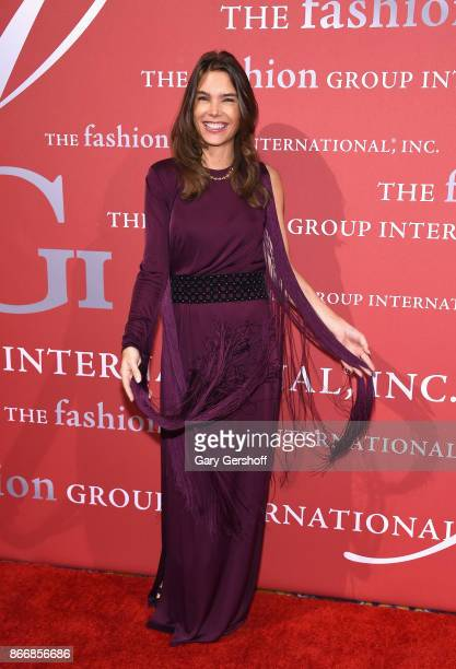 Brand awareness specialist Juliette Longuet attends the 2017 FGI Night Of Stars Modern Voices gala at Cipriani Wall Street on October 26 2017 in New...