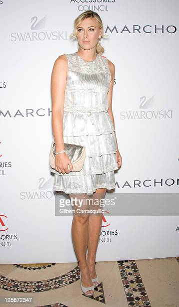 Brand Collaboration award winner Maria Sharapova attends the 2010 ACE Awards at Cipriani 42nd Street on November 1, 2010 in New York City.