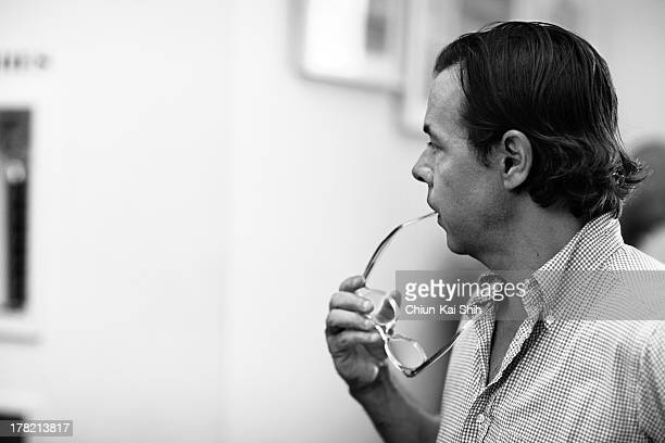 Brand consultant Andy Spade is photographed for GQ Taiwan on September 9 2011 in New York City
