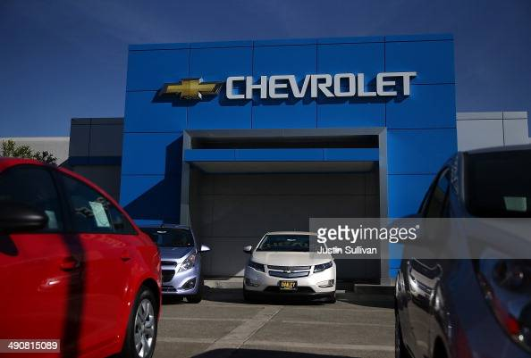 Brand New Chevrolet Cars Sit On The Sales Lot At F H Dailey News Photo Getty Images