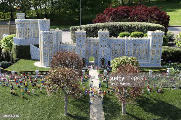A brand new model of Windor Castle goes on permananent display to celebate the wedding of HRH Prince Harry and Meghan Markle at LEGOLAND Windsor on...